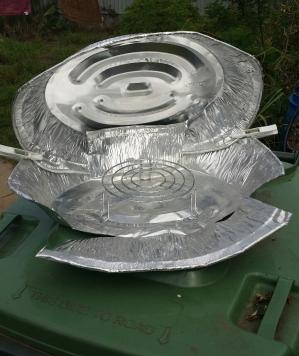 foil solar oven