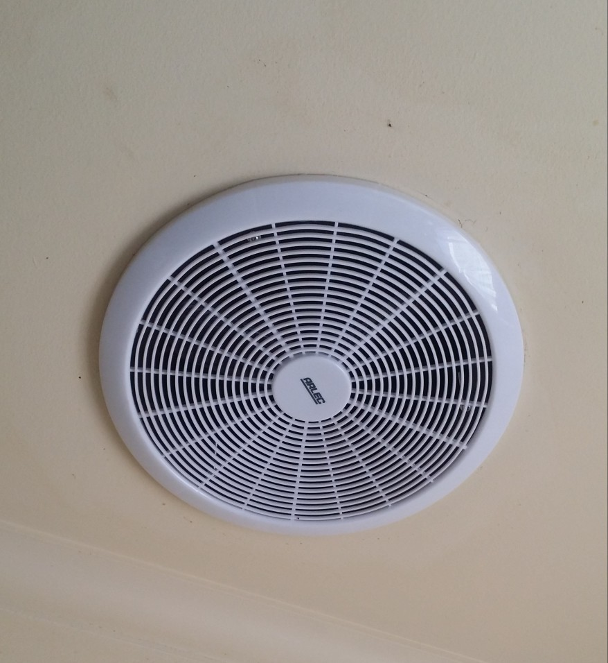 Low energy exhaust fans