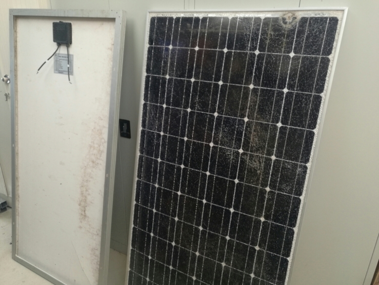 A gift of 2 panels that were otherwise going to the dump