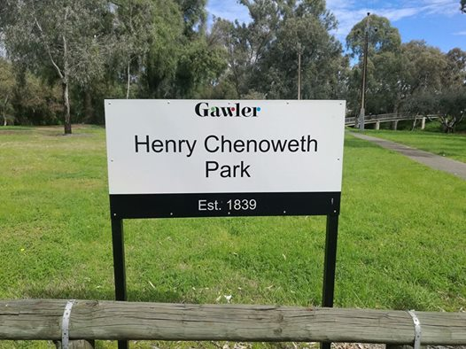 Henry Chenoweth Park, now known globally for its weediness...