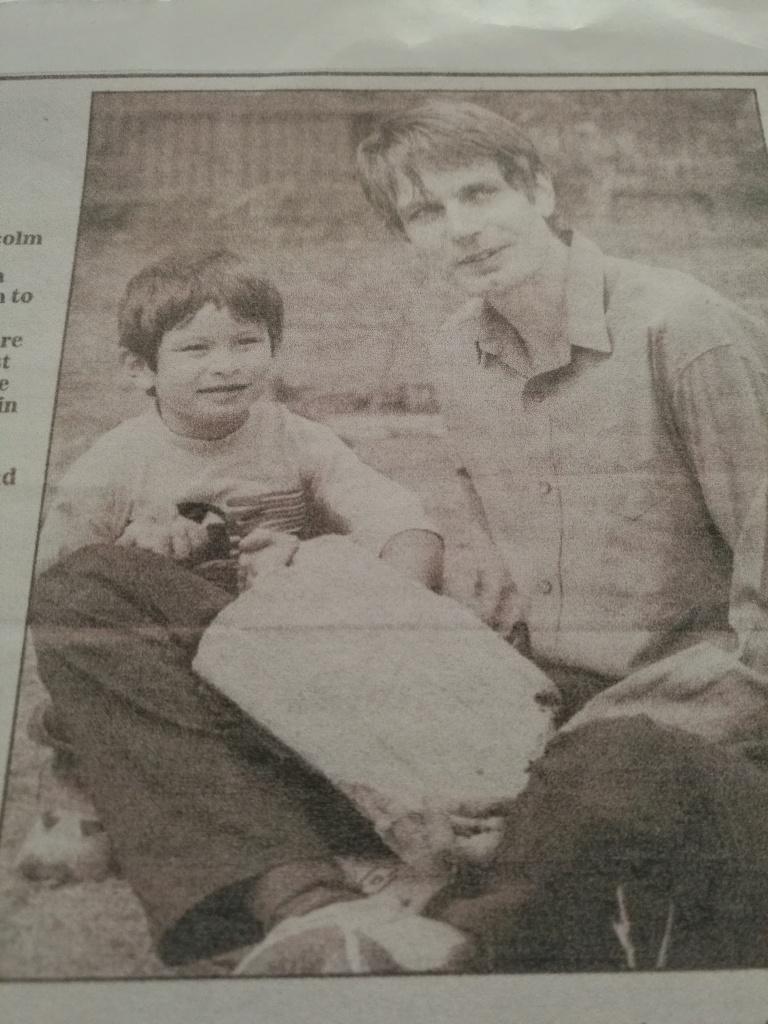 Marlon Malcolm newspaper