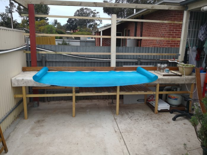 3 1/2 metre workbench