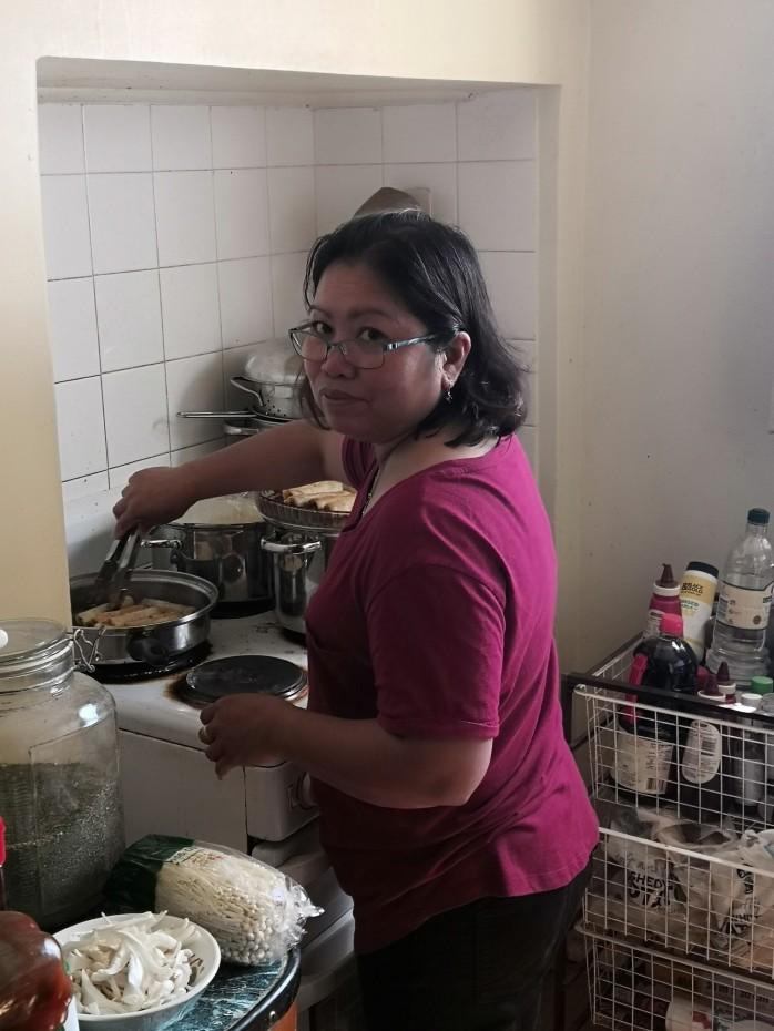 Jelina cooking fund raising
