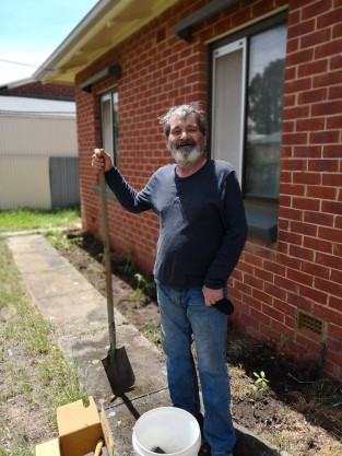 Steve next door garden