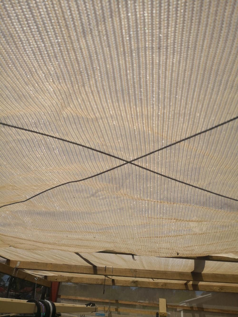 Shadecloth sails