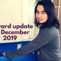 Backyard walkthrough mid- Dec 2019
