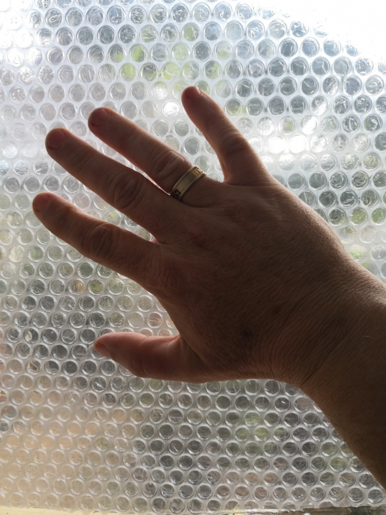 You can insulate windows cheaply with bubble wrap.