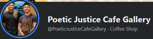 Poetic Justice Cafe Gallery