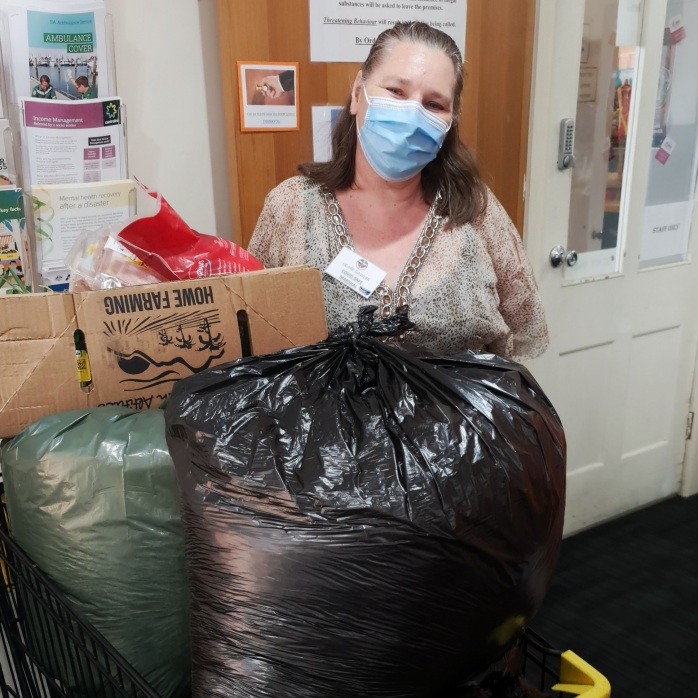 UCare at Gawler are putting their shredded paper to good use!