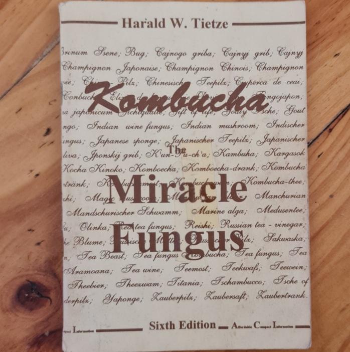 One of the best books on Kombucha.
